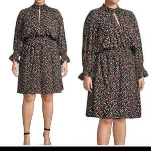 Rachel by Rachel Roy Floral Blouson Dress